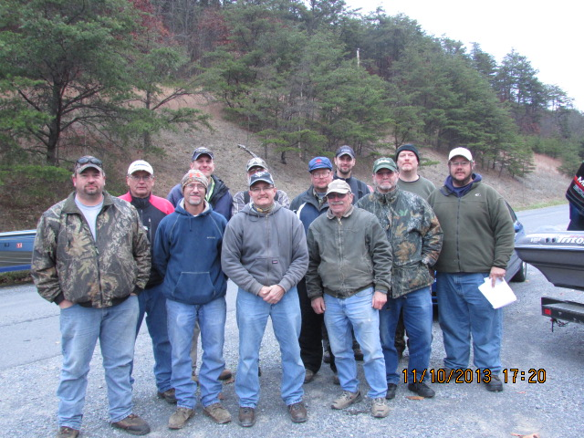 Blair Bassmasters Fishing Club Members